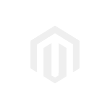 Throw Cushion/ Leaves/ White and Green